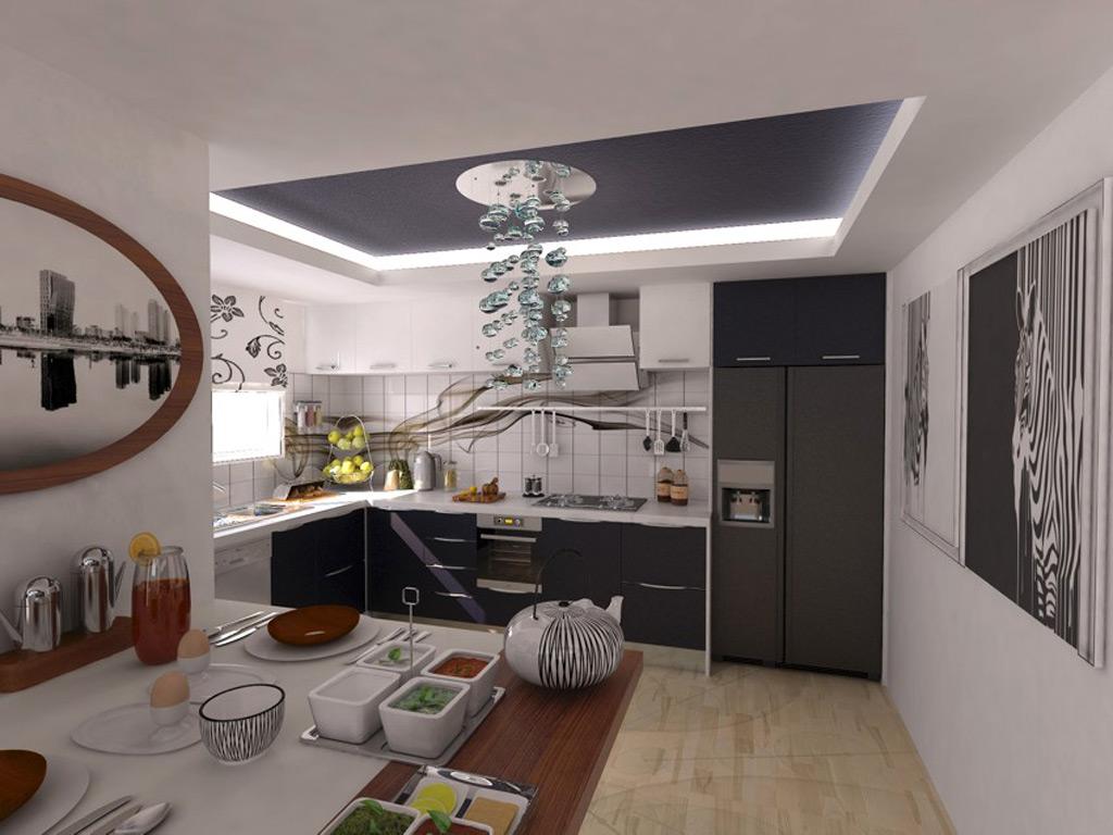 CERAY Park Musterwohnung Küche