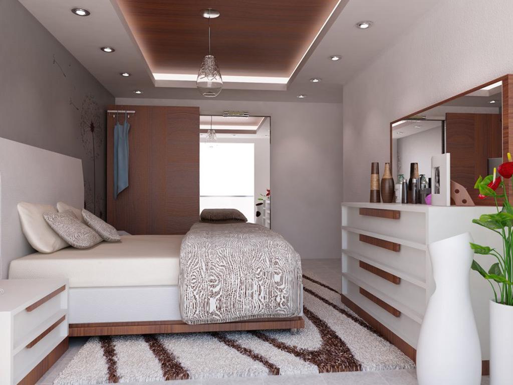 CERAY Park Musterwohnung Schlafzimmer