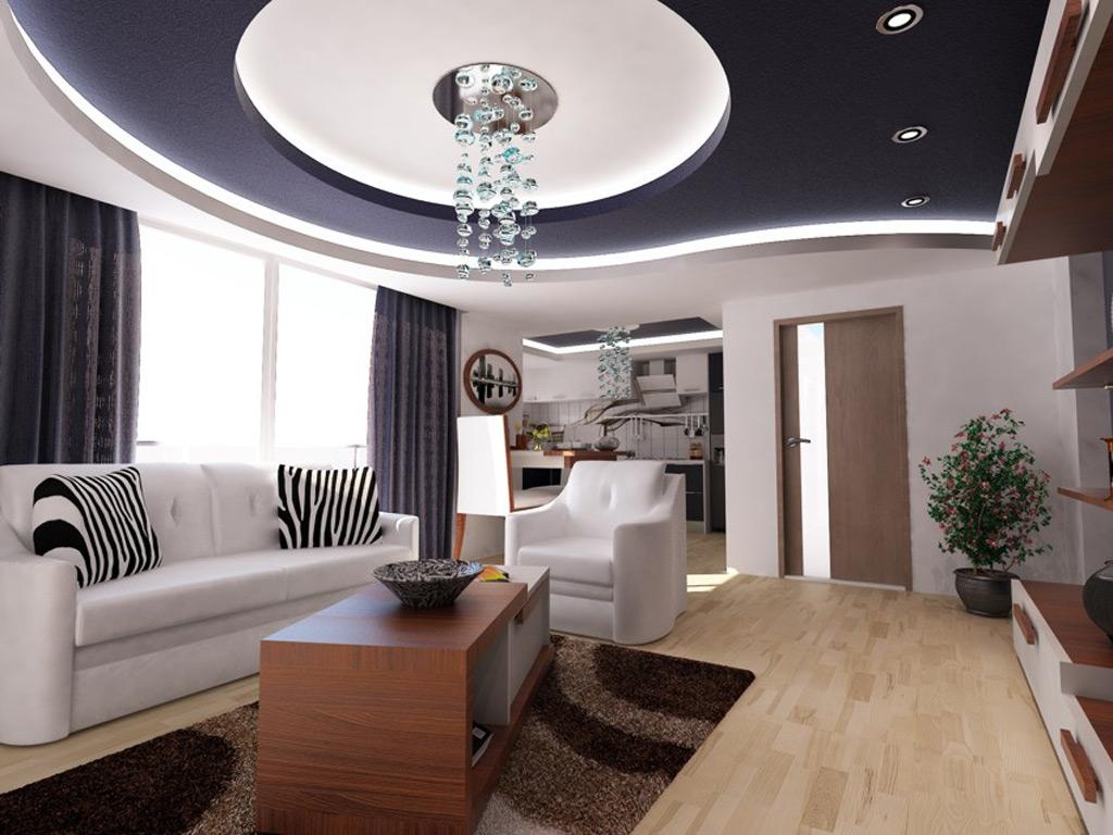 CERAY Park Musterwohnung Wohnzimmer 1