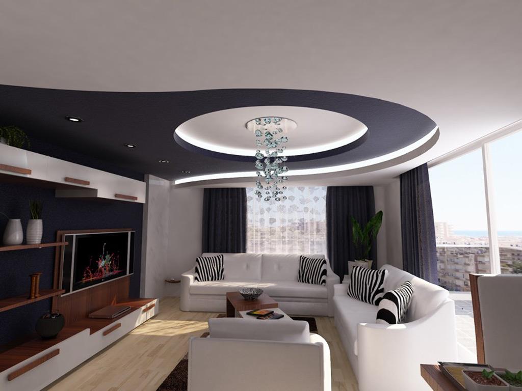 CERAY Park Musterwohnung Wohnzimmer 2