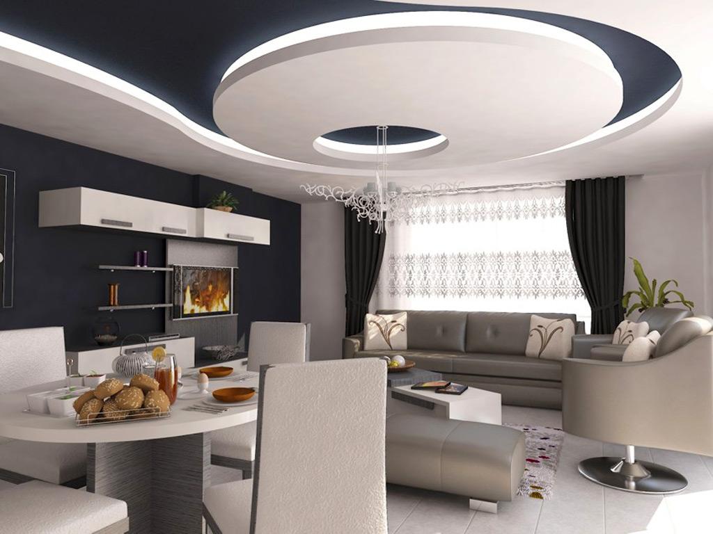 CERAY Park Musterwohnung Wohnzimmer 4